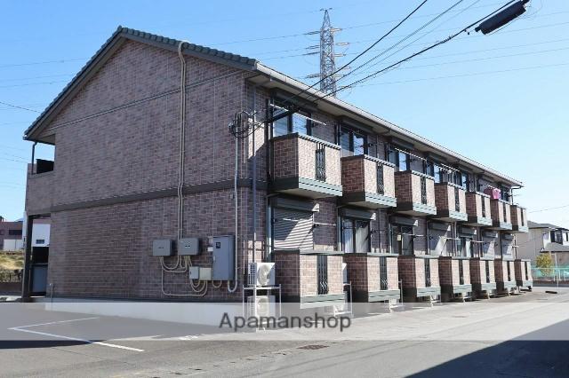 静岡県富士市、新富士駅徒歩26分の築10年 2階建の賃貸アパート