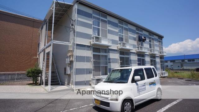 静岡県富士市の築18年 2階建の賃貸アパート