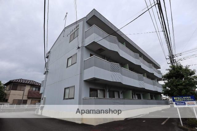 静岡県富士市の築27年 3階建の賃貸アパート