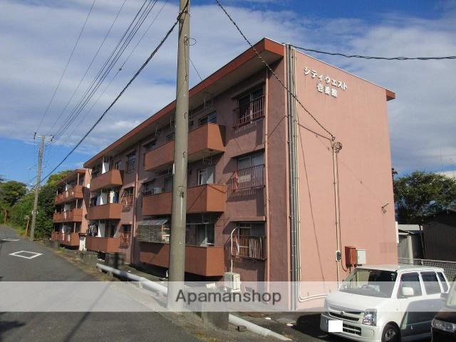 静岡県富士市、柚木駅徒歩17分の築45年 3階建の賃貸マンション
