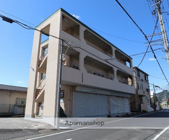 静岡県富士市、富士駅徒歩9分の築43年 3階建の賃貸マンション