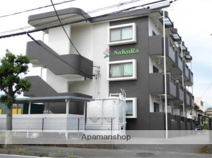 静岡県富士市、富士駅徒歩22分の築18年 3階建の賃貸マンション