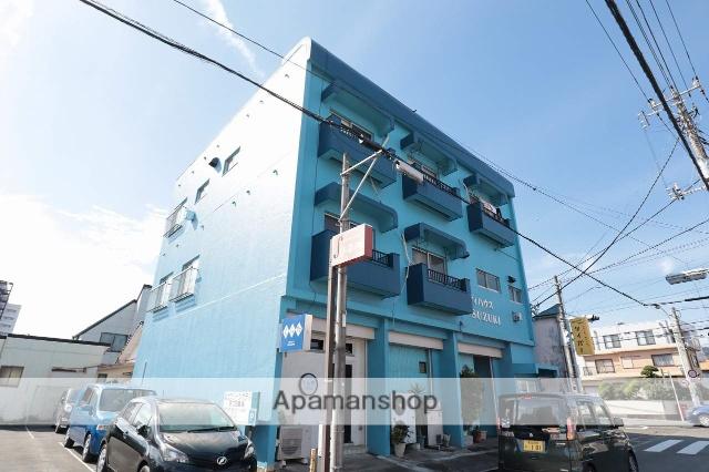 静岡県富士市、柚木駅徒歩14分の築39年 3階建の賃貸マンション