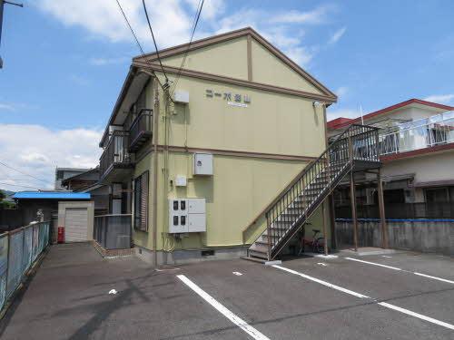 静岡県富士市、竪堀駅徒歩20分の築24年 2階建の賃貸アパート