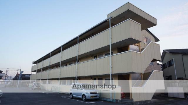 静岡県富士市、富士駅徒歩10分の築20年 3階建の賃貸アパート