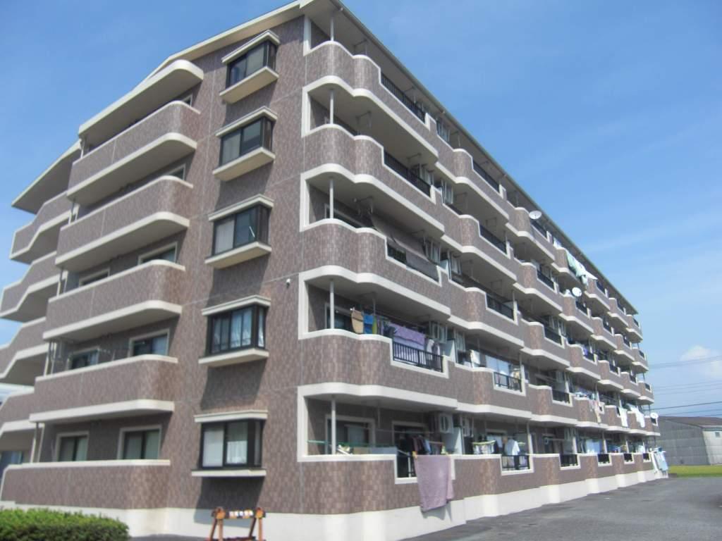静岡県富士市、竪堀駅徒歩9分の築22年 5階建の賃貸マンション