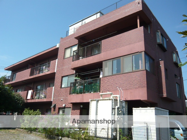 静岡県三島市、三島駅徒歩16分の築18年 3階建の賃貸マンション