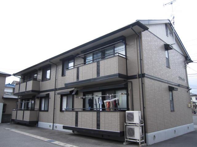静岡県駿東郡清水町、三島駅徒歩30分の築17年 2階建の賃貸アパート