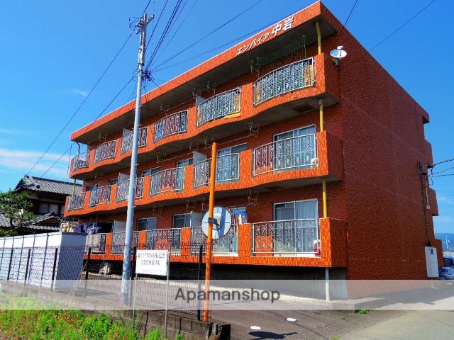 静岡県三島市、三島二日町駅徒歩35分の築22年 3階建の賃貸マンション