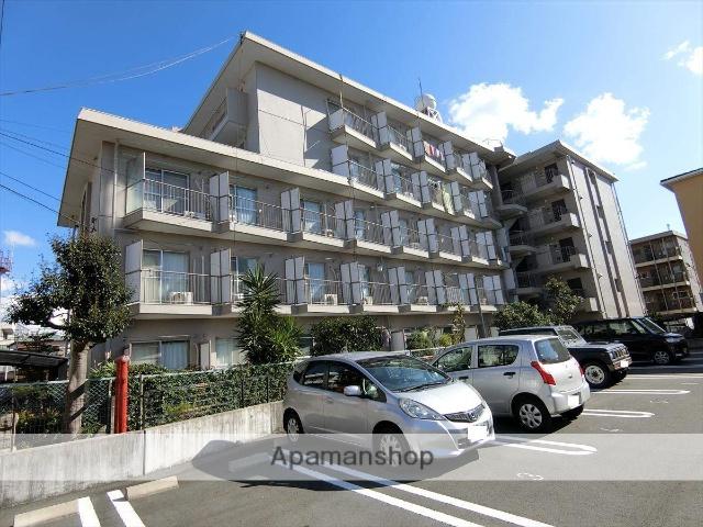 静岡県三島市、三島駅徒歩16分の築28年 5階建の賃貸マンション