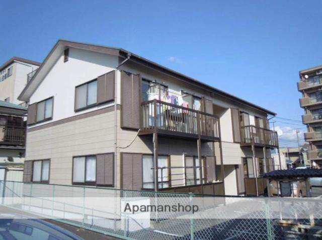静岡県駿東郡清水町、三島広小路駅徒歩13分の築21年 2階建の賃貸アパート