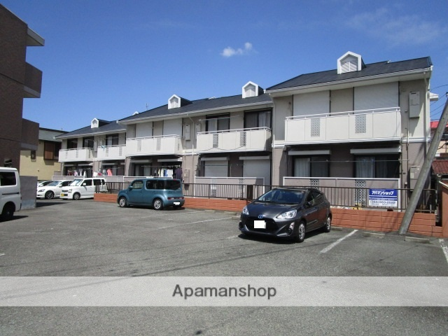 静岡県三島市、三島田町駅徒歩9分の築28年 2階建の賃貸アパート