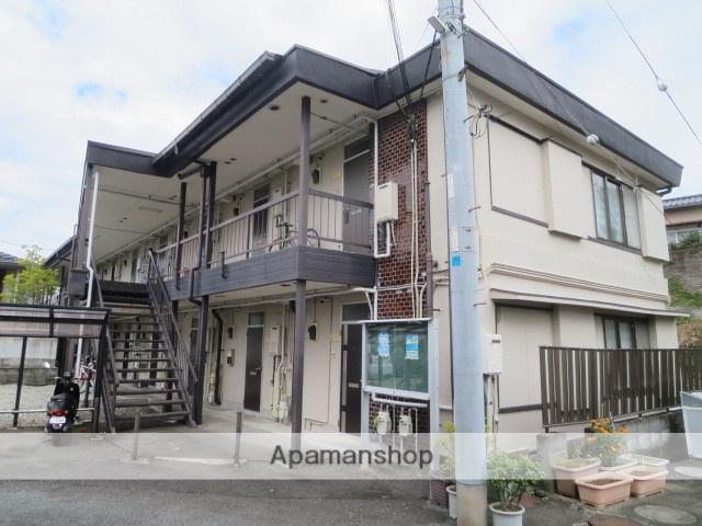静岡県駿東郡清水町、三島駅徒歩23分の築39年 2階建の賃貸アパート