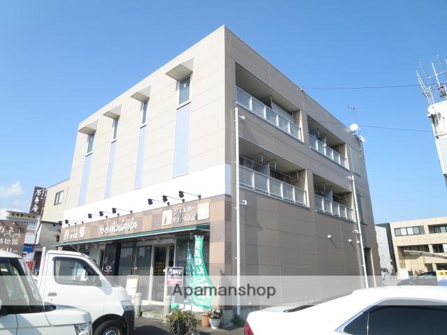 静岡県三島市、三島田町駅徒歩3分の築19年 3階建の賃貸マンション