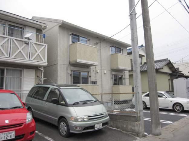 静岡県三島市、三島駅徒歩14分の築6年 2階建の賃貸アパート