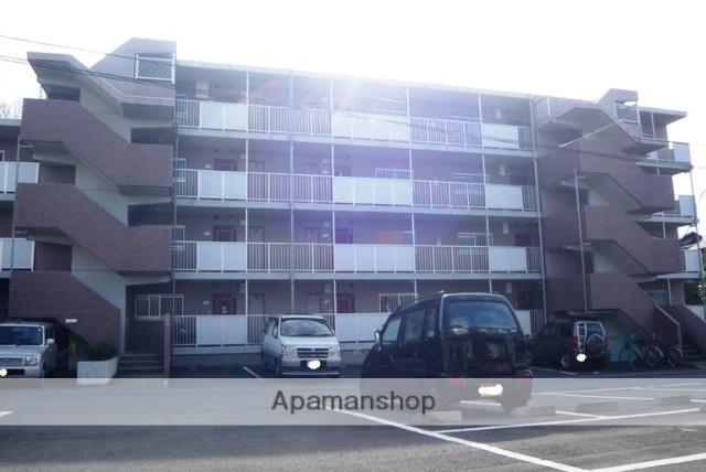 静岡県田方郡函南町、大場駅徒歩17分の築25年 4階建の賃貸マンション