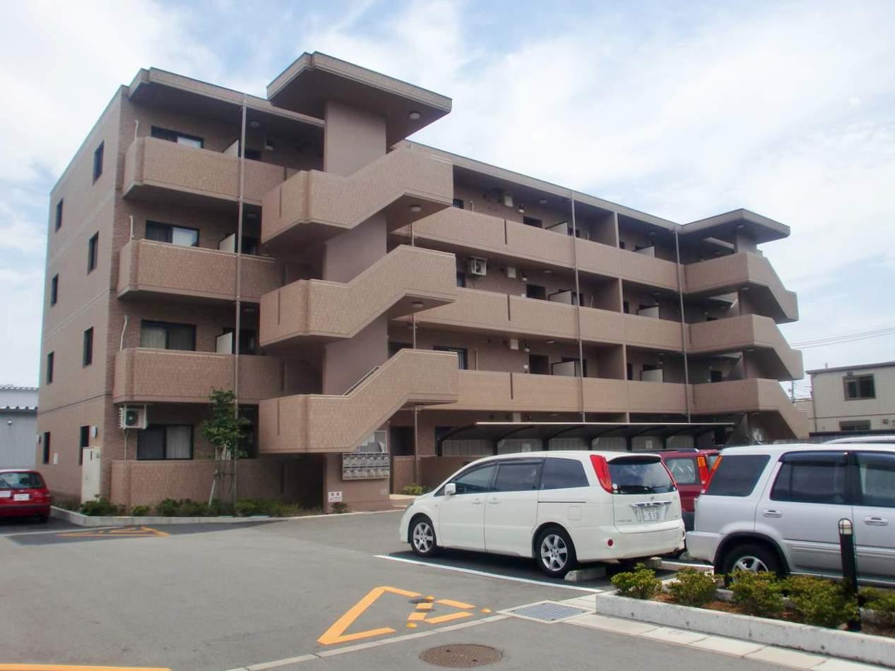 静岡県三島市、三島広小路駅徒歩13分の築9年 4階建の賃貸マンション