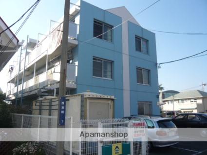 静岡県三島市、三島駅徒歩13分の築25年 3階建の賃貸マンション