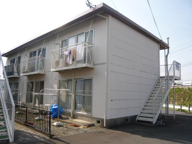 静岡県三島市、三島駅徒歩15分の築31年 2階建の賃貸アパート