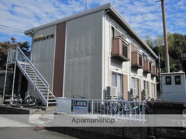 静岡県三島市、三島駅徒歩16分の築28年 2階建の賃貸アパート
