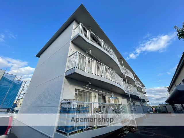 静岡県三島市、三島広小路駅徒歩12分の築25年 3階建の賃貸マンション