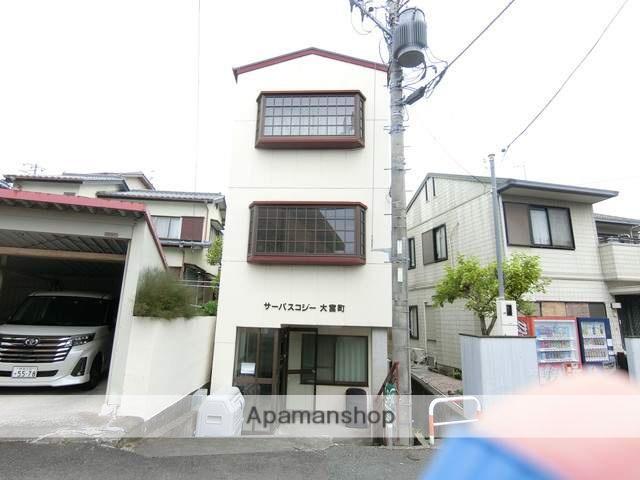 静岡県三島市、三島駅徒歩15分の築29年 3階建の賃貸マンション