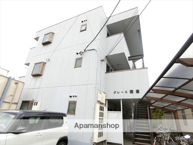 静岡県三島市、三島駅徒歩20分の築19年 3階建の賃貸アパート
