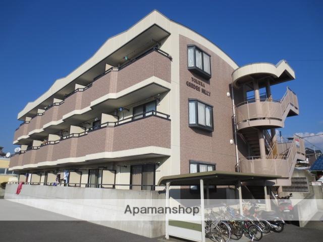 静岡県三島市、長泉なめり駅徒歩18分の築17年 3階建の賃貸マンション