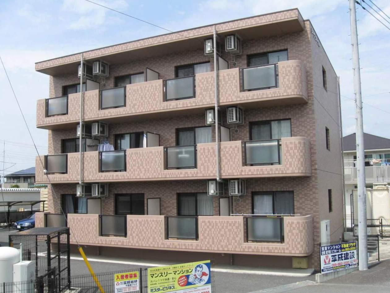 静岡県三島市、大場駅徒歩14分の築11年 3階建の賃貸マンション