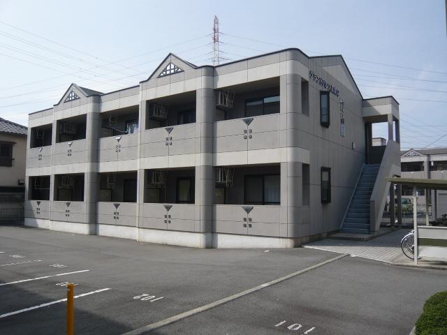 静岡県駿東郡長泉町、長泉なめり駅徒歩17分の築17年 2階建の賃貸マンション
