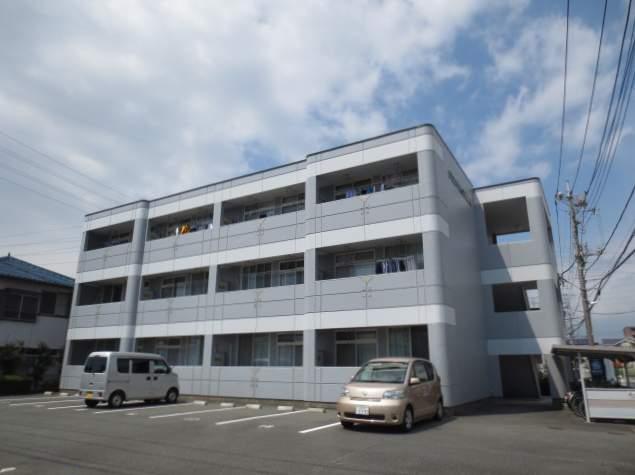 静岡県駿東郡長泉町、長泉なめり駅徒歩17分の築21年 3階建の賃貸マンション
