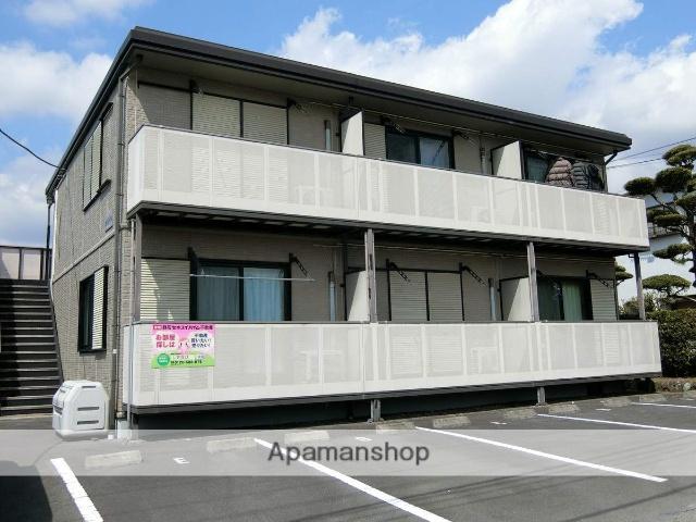 静岡県裾野市、岩波駅徒歩15分の築14年 2階建の賃貸アパート