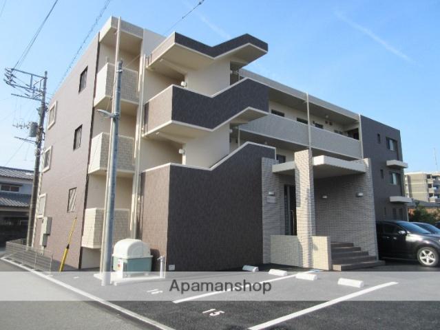 静岡県駿東郡長泉町、三島駅徒歩16分の築1年 3階建の賃貸マンション