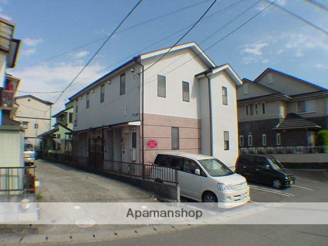 静岡県駿東郡長泉町、三島駅徒歩18分の築19年 2階建の賃貸アパート