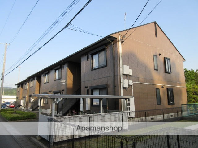 静岡県裾野市、裾野駅徒歩14分の築18年 2階建の賃貸アパート