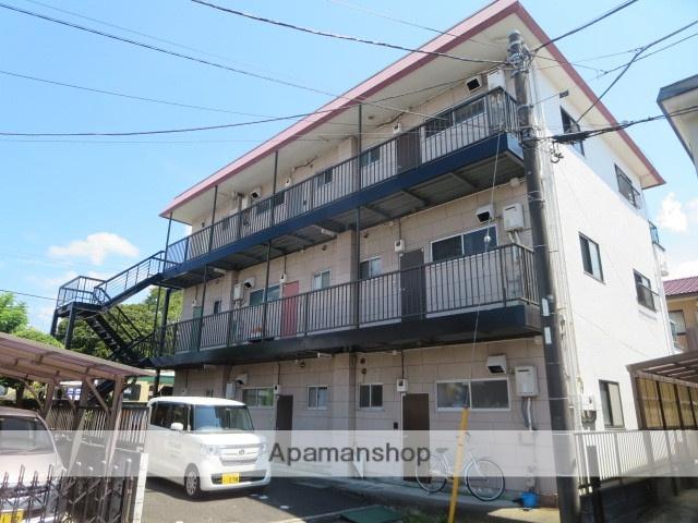静岡県田方郡函南町、大場駅徒歩20分の築36年 3階建の賃貸アパート