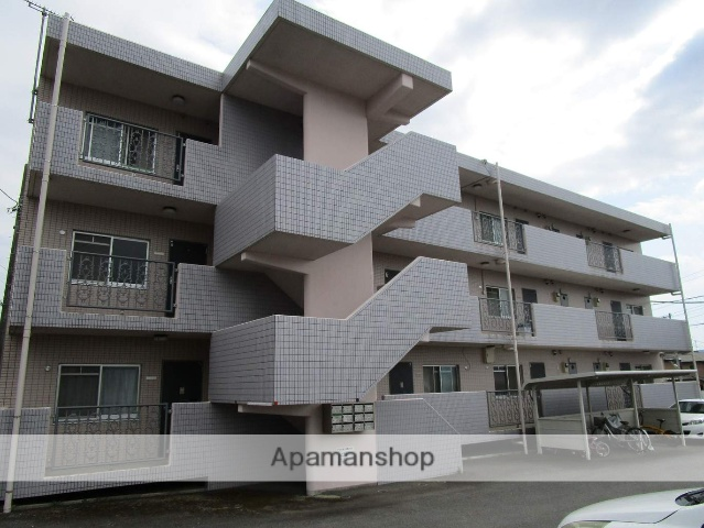 静岡県田方郡函南町、大場駅徒歩17分の築22年 3階建の賃貸マンション