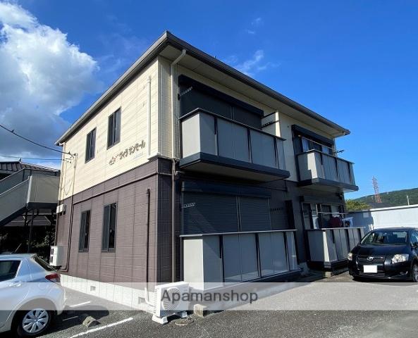 静岡県伊豆の国市、伊豆長岡駅徒歩10分の築16年 2階建の賃貸アパート