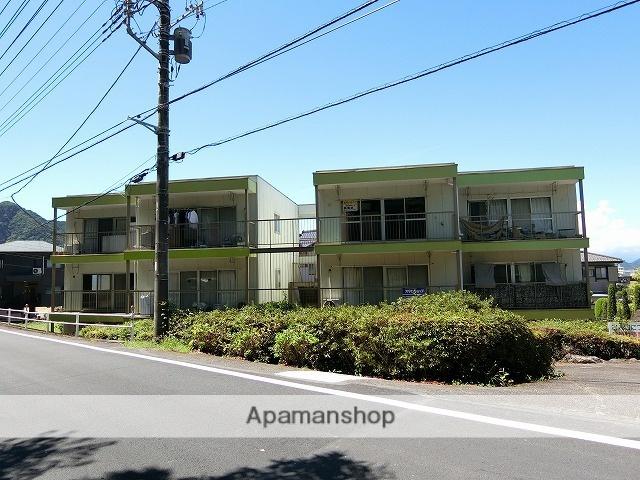 静岡県伊豆の国市、田京駅徒歩20分の築37年 3階建の賃貸マンション