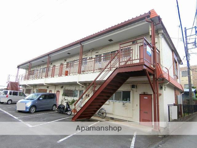 静岡県伊豆の国市、田京駅徒歩14分の築38年 2階建の賃貸アパート
