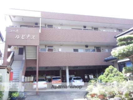 静岡県田方郡函南町、伊豆仁田駅徒歩15分の築28年 3階建の賃貸アパート