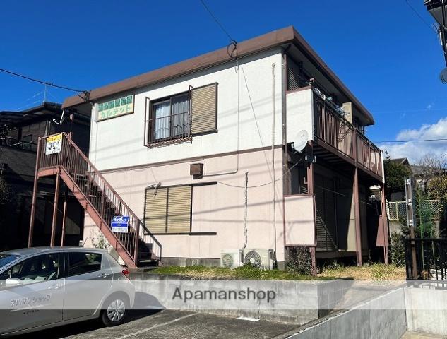 静岡県伊豆の国市、韮山駅徒歩18分の築30年 2階建の賃貸アパート