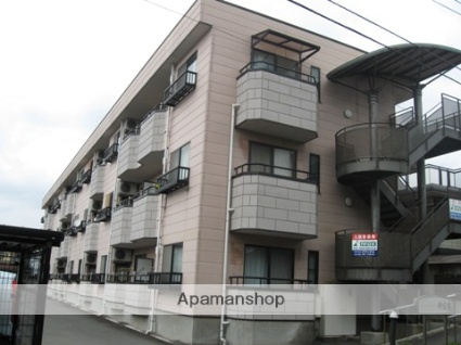 静岡県伊豆の国市、原木駅徒歩17分の築19年 3階建の賃貸マンション