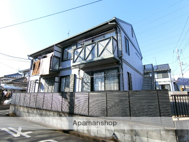 静岡県沼津市の築23年 2階建の賃貸アパート