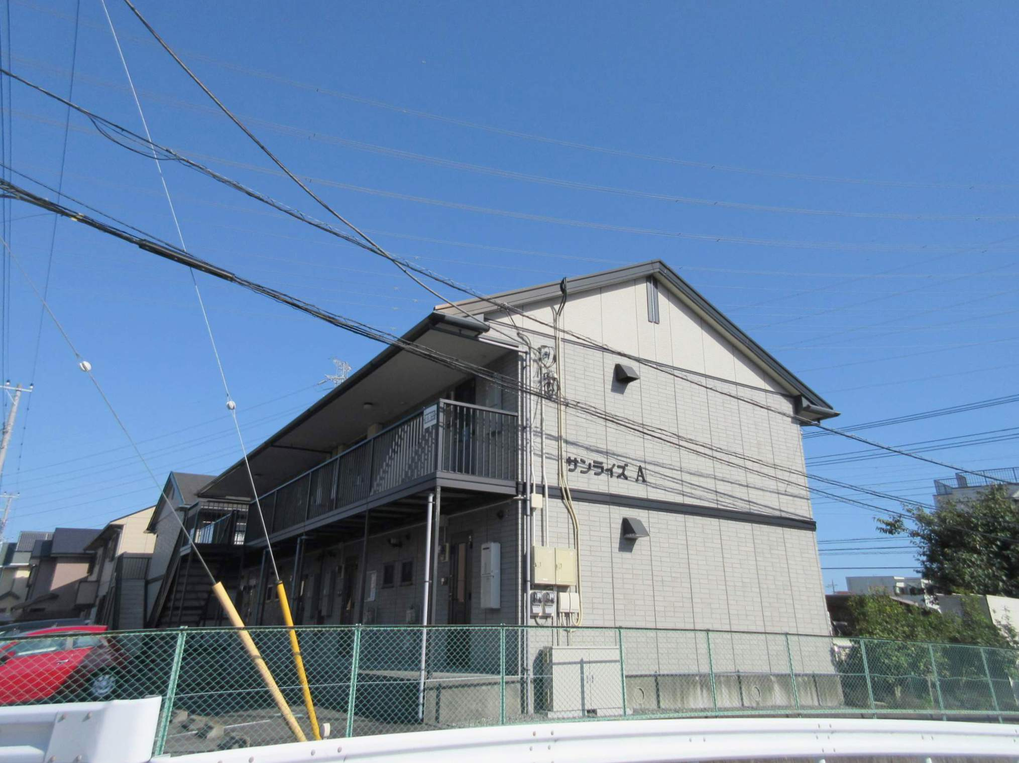 静岡県駿東郡長泉町、長泉なめり駅徒歩13分の築18年 2階建の賃貸アパート
