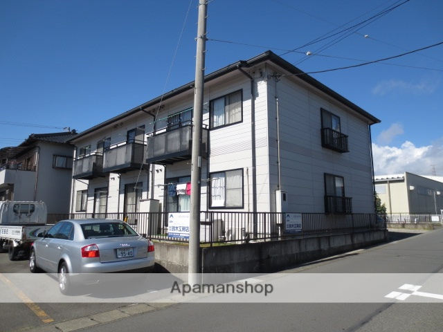 静岡県駿東郡長泉町、長泉なめり駅徒歩15分の築18年 2階建の賃貸アパート