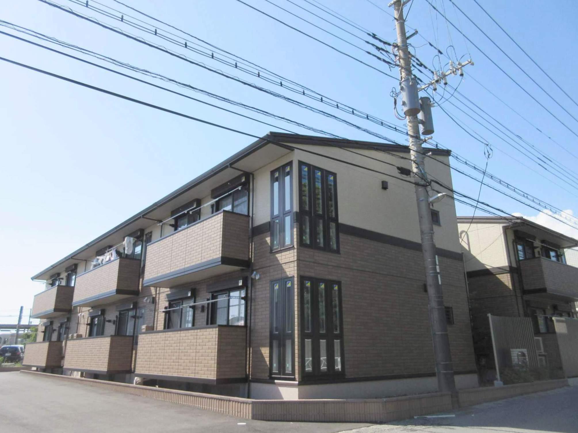 静岡県駿東郡長泉町、長泉なめり駅徒歩1分の築2年 2階建の賃貸アパート