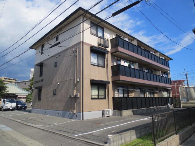 静岡県駿東郡長泉町、下土狩駅徒歩14分の築19年 3階建の賃貸アパート