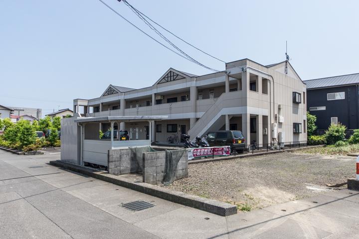 静岡県焼津市、焼津駅徒歩22分の築16年 2階建の賃貸アパート