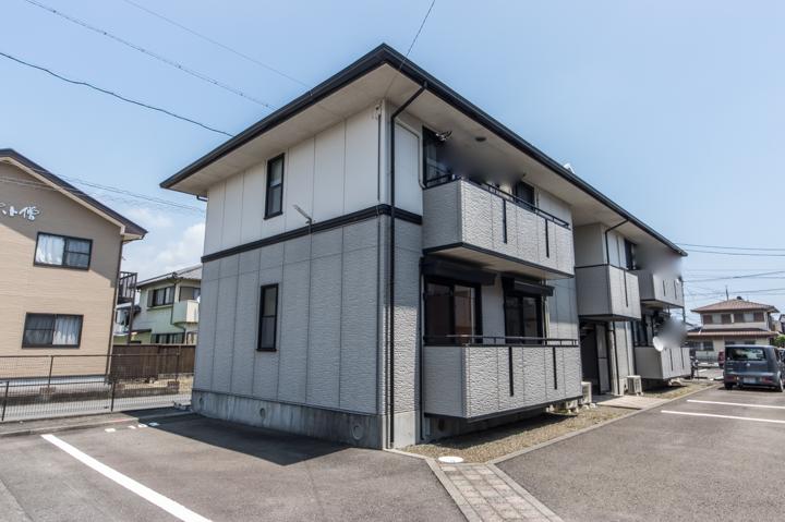 静岡県焼津市、西焼津駅徒歩7分の築20年 2階建の賃貸アパート